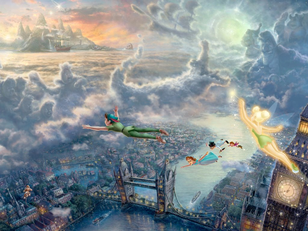 Cartoons Wallpaper: Peter Pan