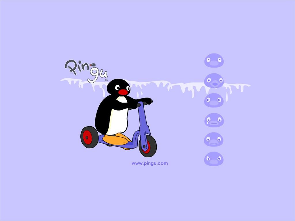 Cartoons Wallpaper: Pingu