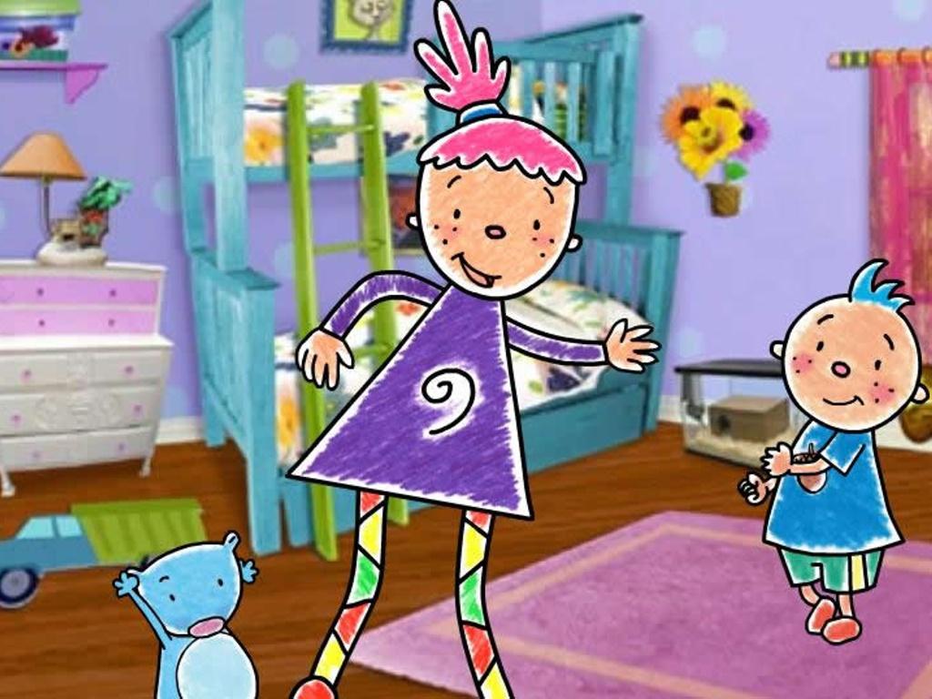 Cartoons Wallpaper: Pinky Dinky Doo