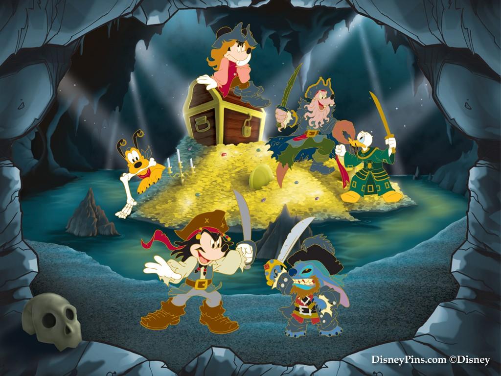 Cartoons Wallpaper: Mickey - Pirates of Castaway Cay