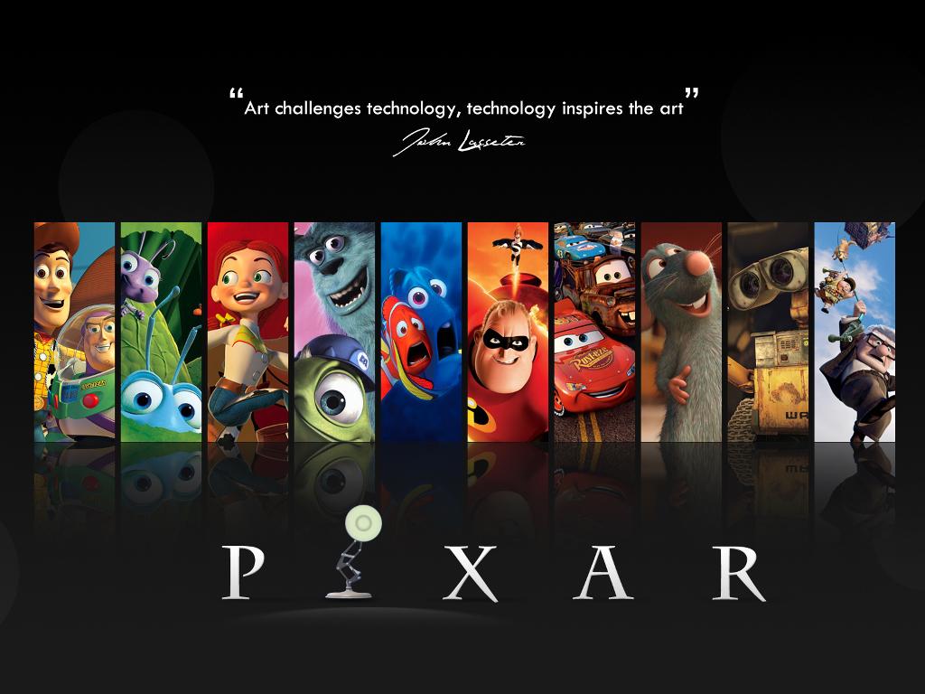 Cartoons Wallpaper: Pixar - Legacy