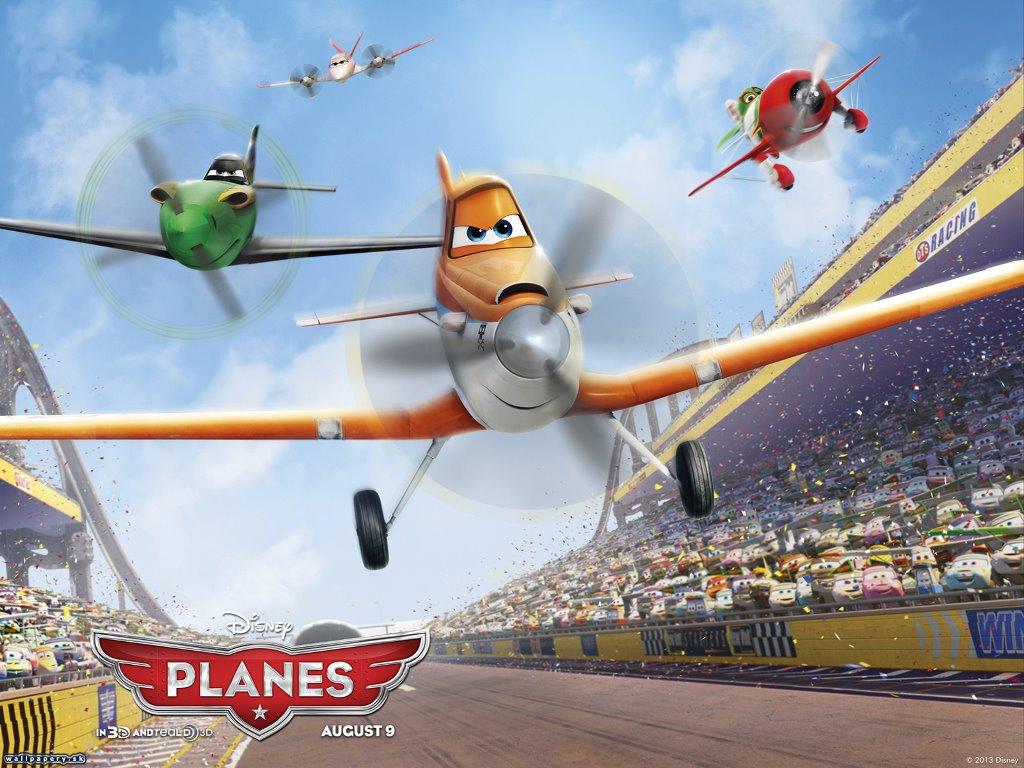 Cartoons Wallpaper: Planes
