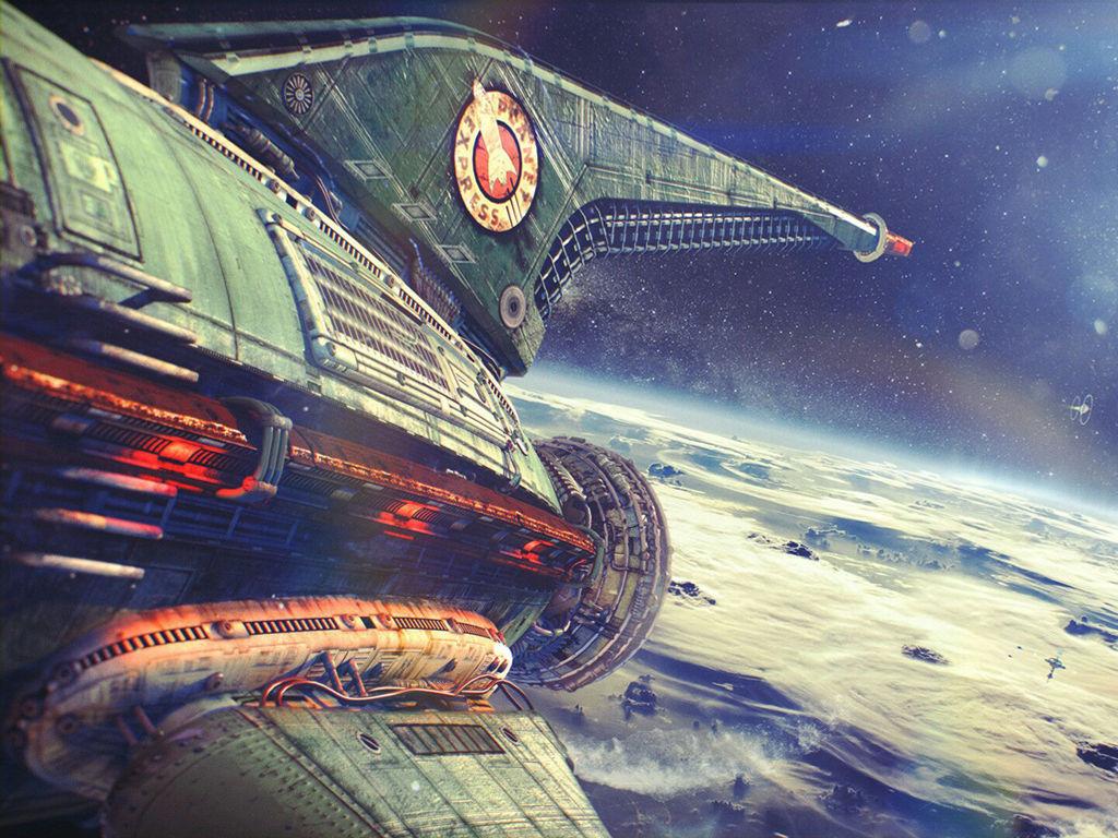 Cartoons Wallpaper: Planet Express