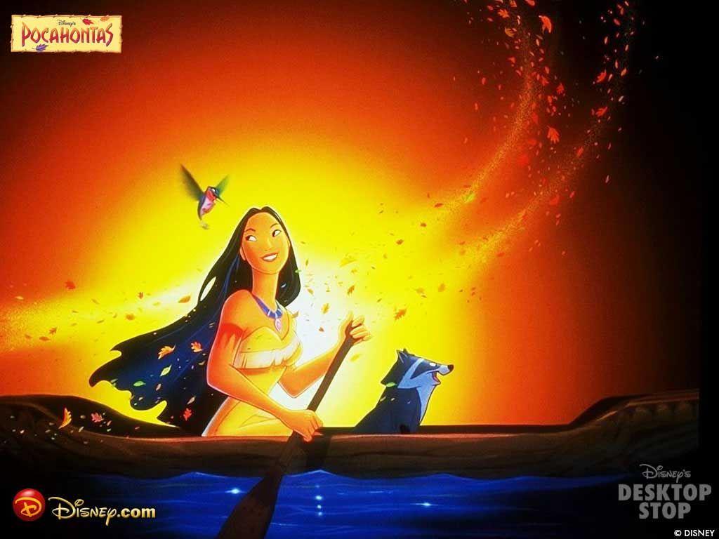 Cartoons Wallpaper: Pocahontas