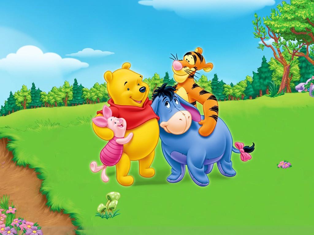 Cartoons Wallpaper: Pooh and Friends