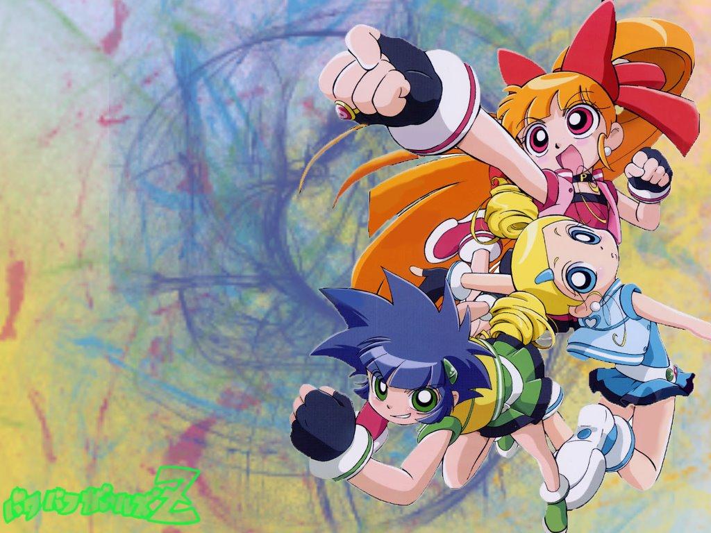 Cartoons Wallpaper: Powerpuff Girls Z