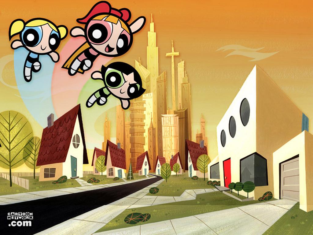 Cartoons Wallpaper: Powerpuff Girls