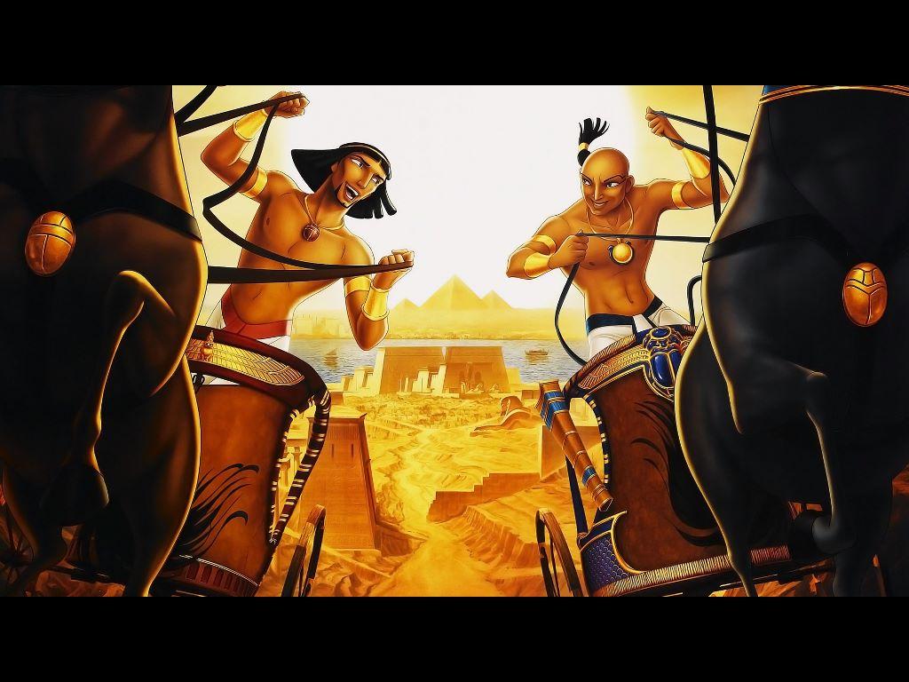 Cartoons Wallpaper: Prince of Egypt
