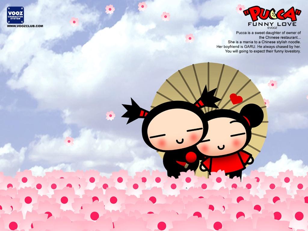Cartoons Wallpaper: Pucca