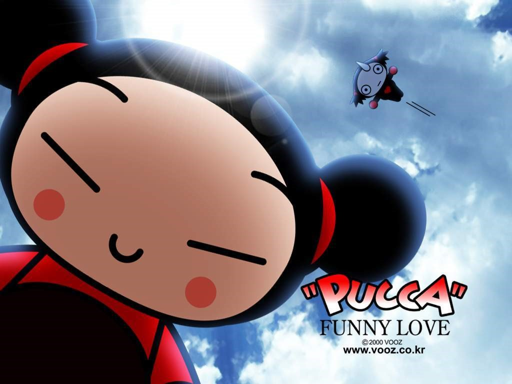 Cartoons Wallpaper: Pucca