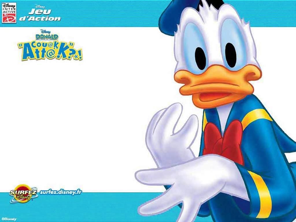 Cartoons Wallpaper: Quack Attack
