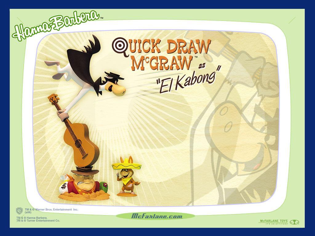 Cartoons Wallpaper: Quickdraw McGraw - El Kabong
