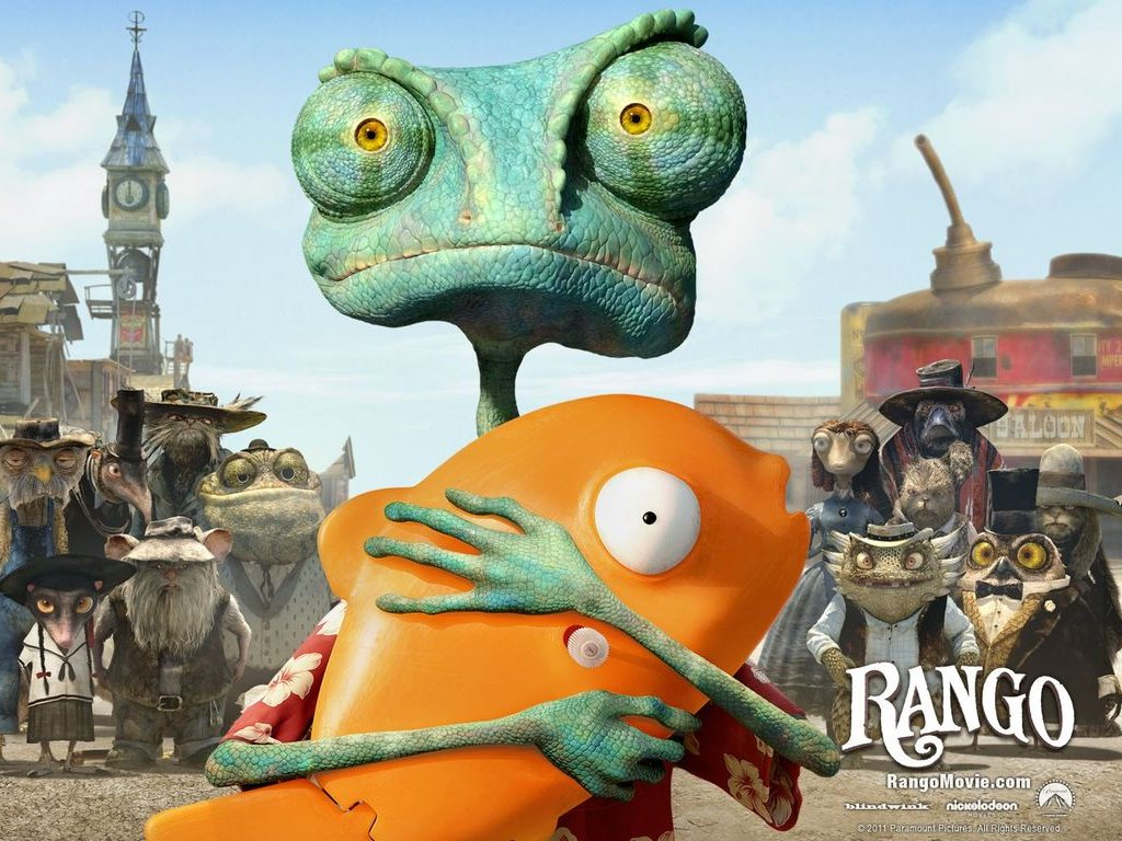 Cartoons Wallpaper: Rango