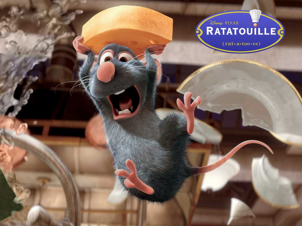 Cartoons Wallpaper: Ratatouille