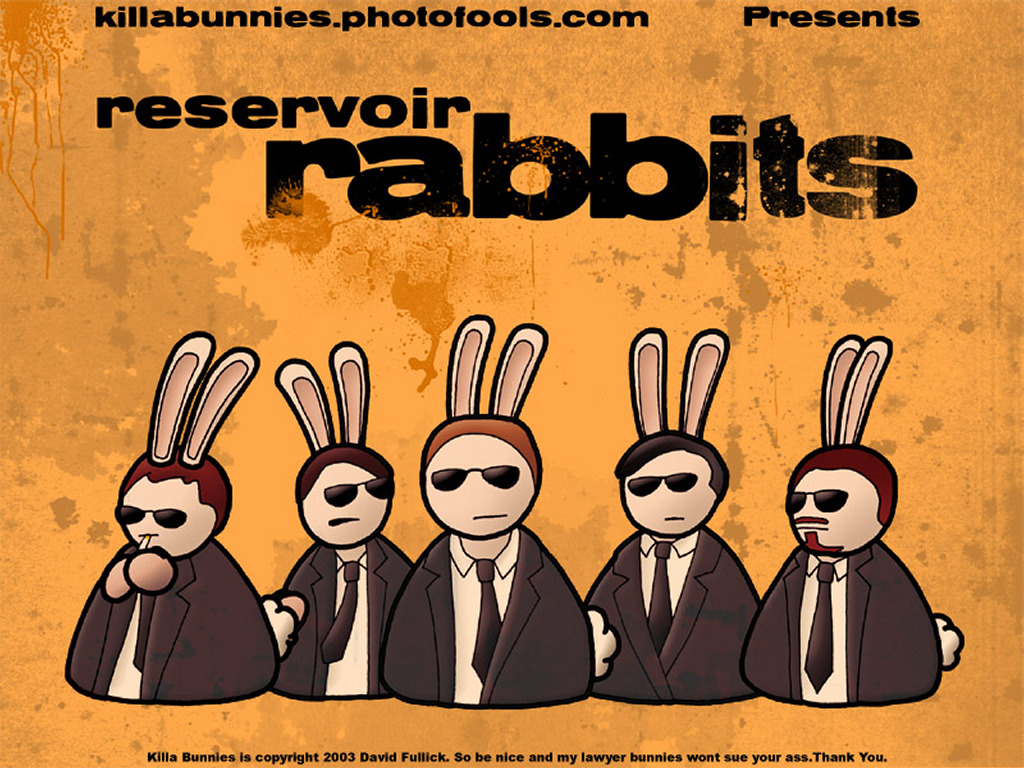 Cartoons Wallpaper: Reservoir Rabbits