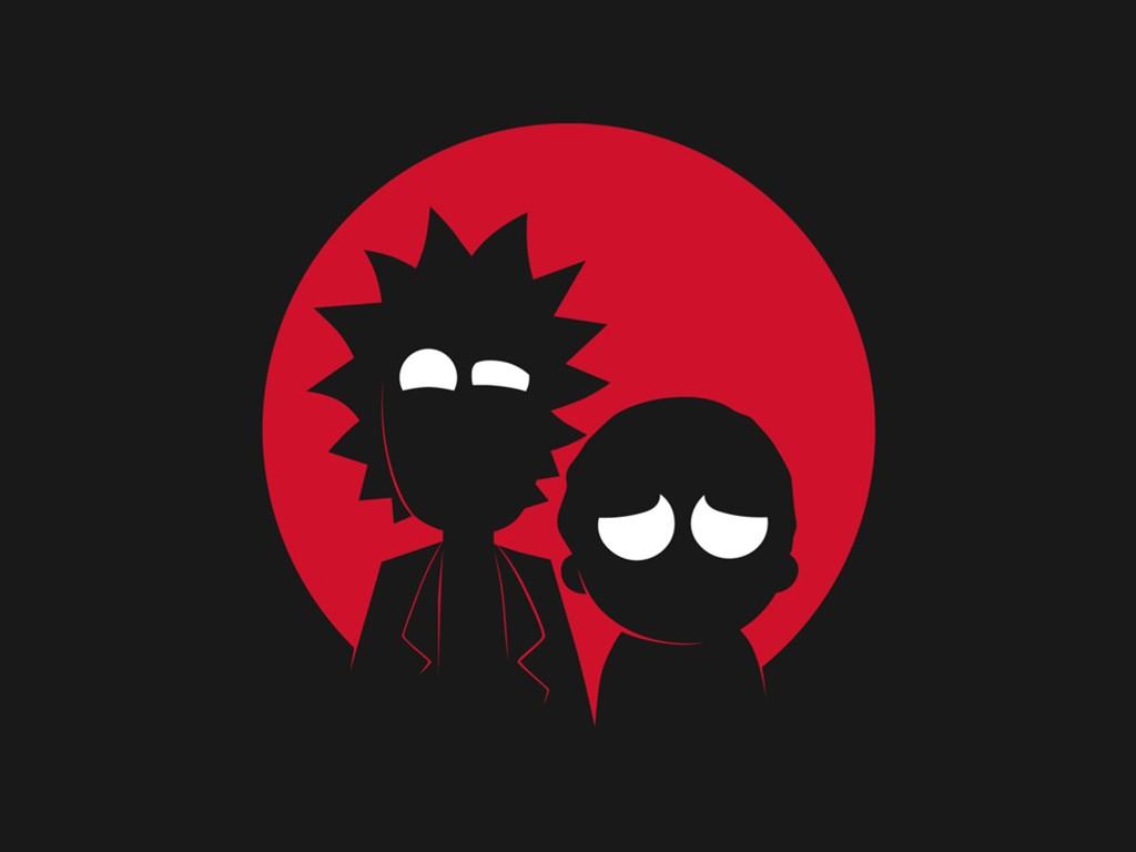 Cartoons Wallpaper: Rick and Morty
