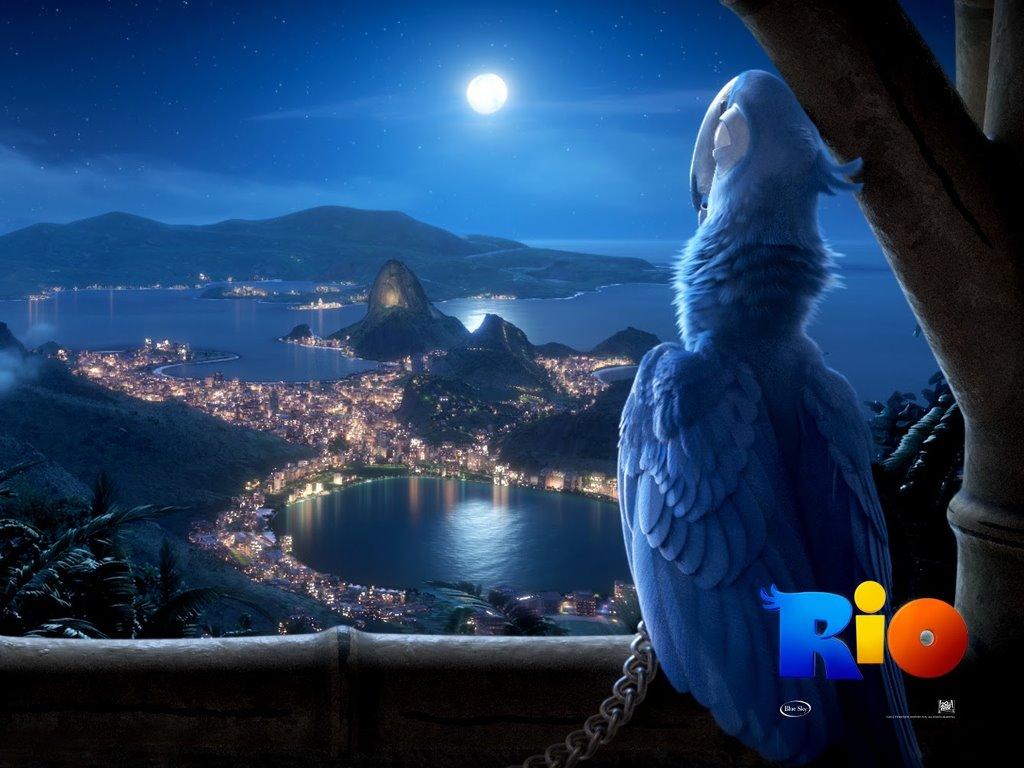 Cartoons Wallpaper: Rio