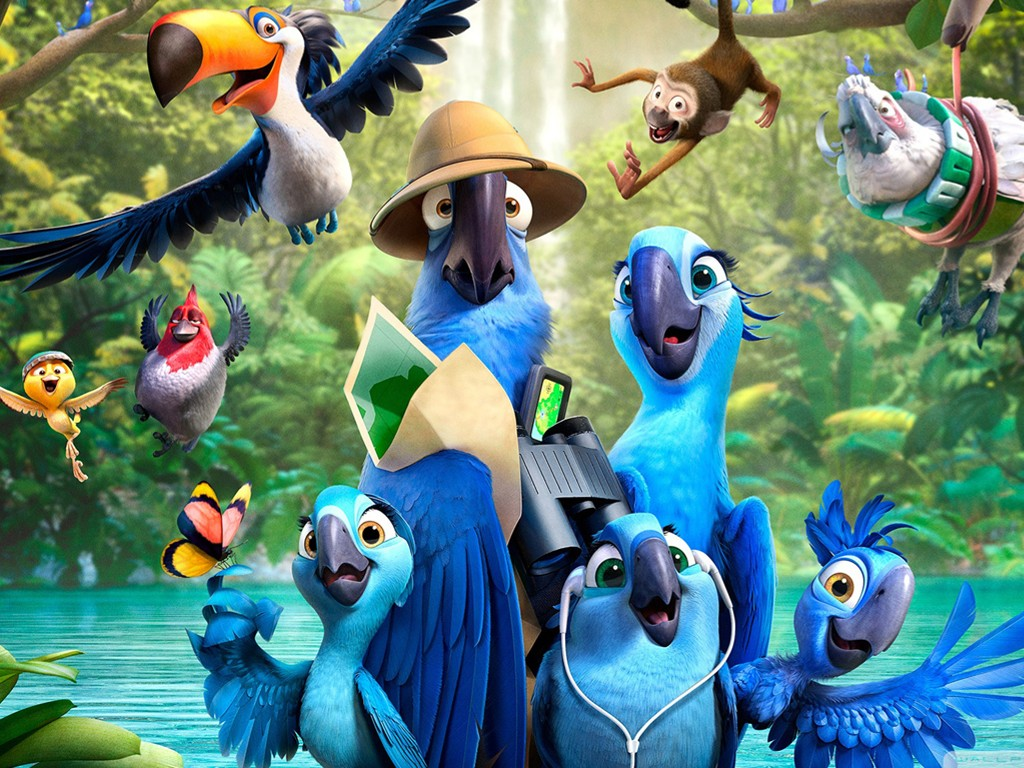 Cartoons Wallpaper: Rio 2