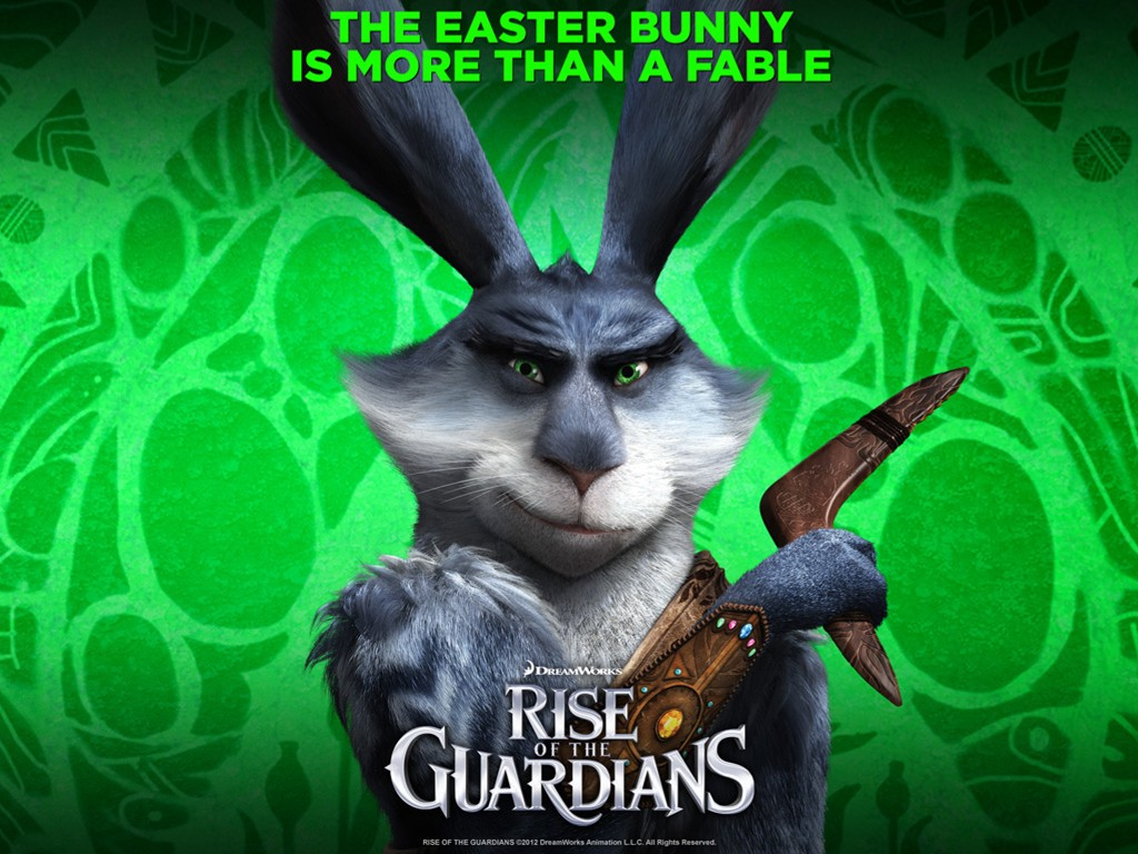 Cartoons Wallpaper: Rise of the Guardians - Easter Bunny