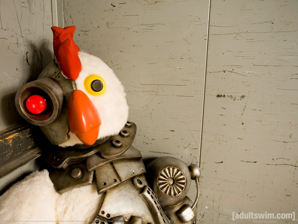 Cartoons Wallpaper: Robot Chicken