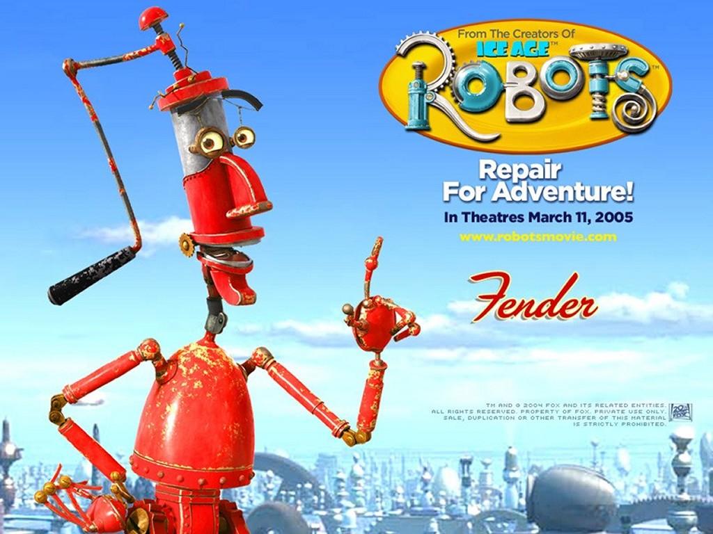 Cartoons Wallpaper: Robots - Fender
