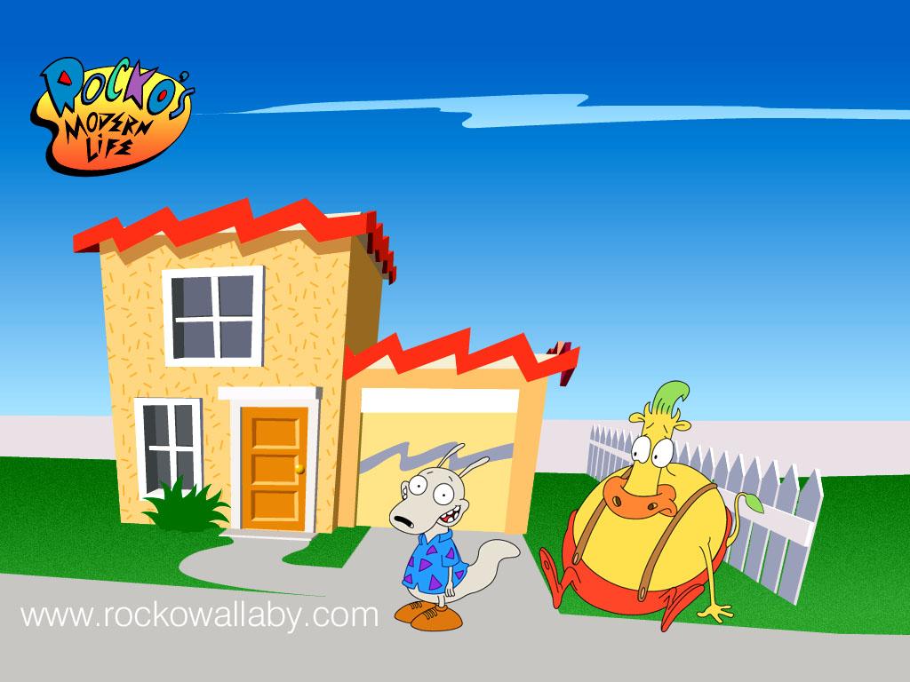 Cartoons Wallpaper: Rocko's Modern Life
