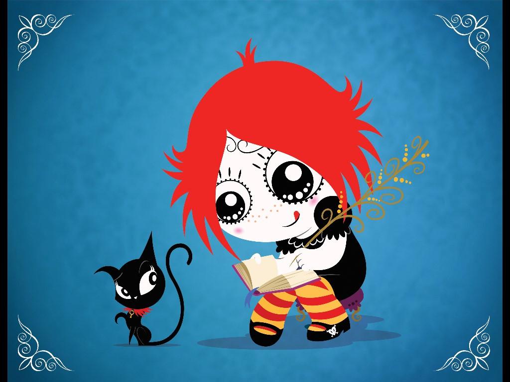 Cartoons Wallpaper: Ruby Gloom