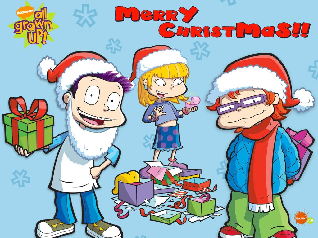 Cartoons Wallpaper: Rugrats All Grown Up! - Christmas