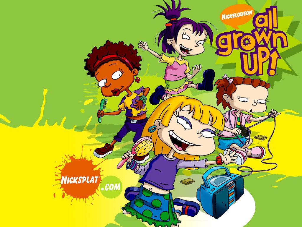 Cartoons Wallpaper: Rugrats - All Grown Up