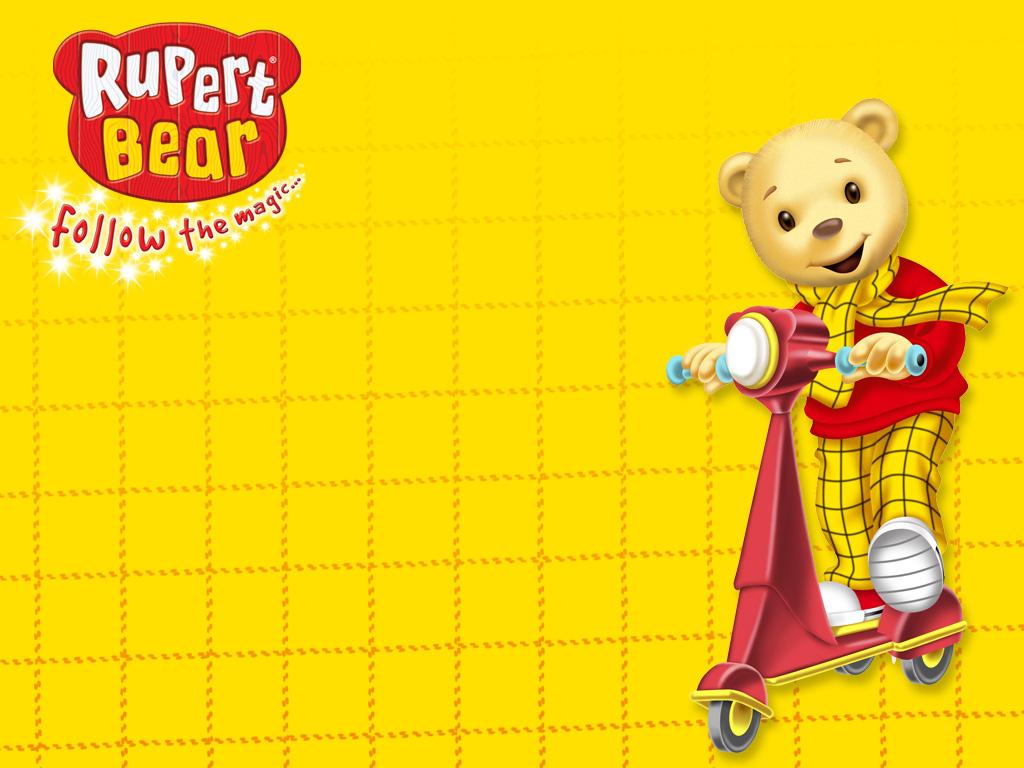 Cartoons Wallpaper: Rupert Bear