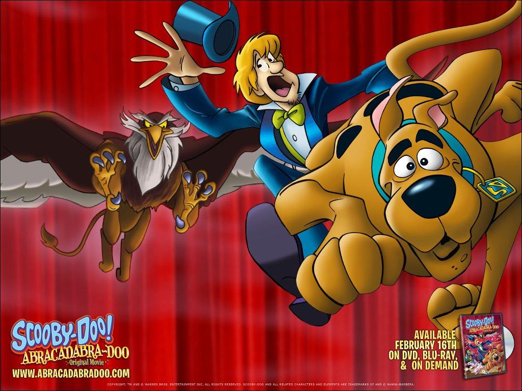 Cartoons Wallpaper: Scooby-Doo - Abracadabra-Doo
