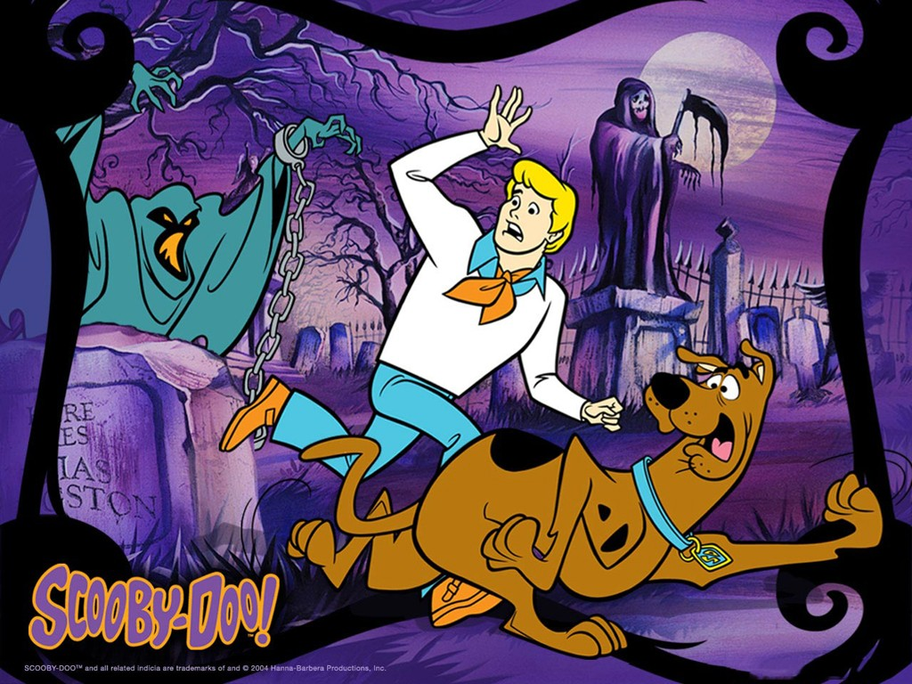 Cartoons Wallpaper: Scooby-Doo - Ghost