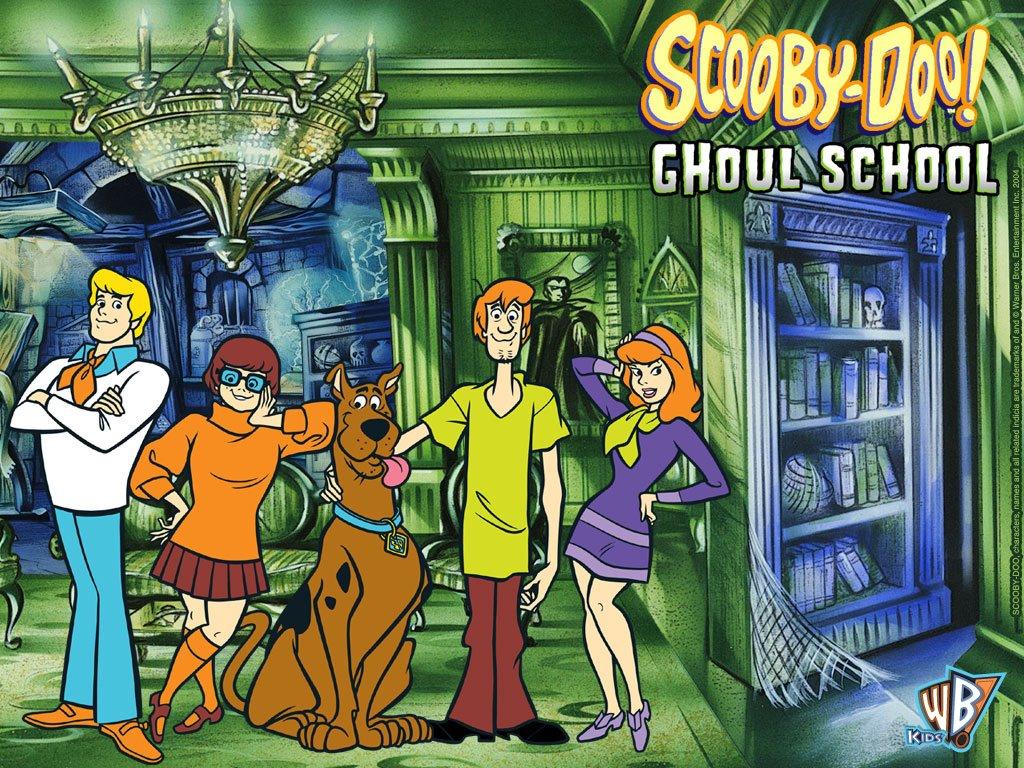Cartoons Wallpaper: Scooby-Doo - Ghoul School