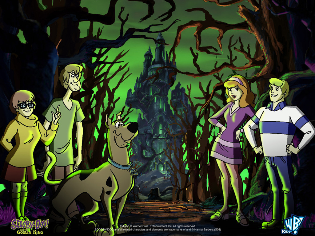 Cartoons Wallpaper: Scooby-Doo and the Goblin King