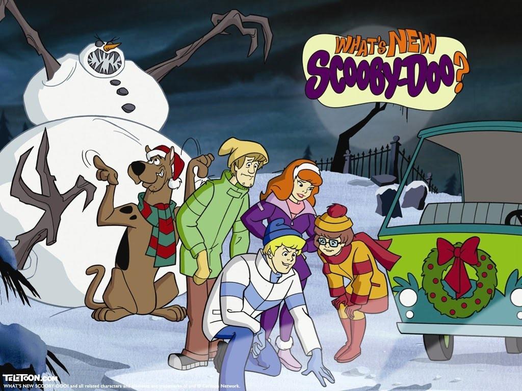 Cartoons Wallpaper: Scooby-Doo - Christmas