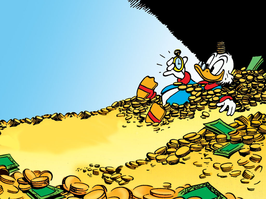 Cartoons Wallpaper: Scrooge McDuck