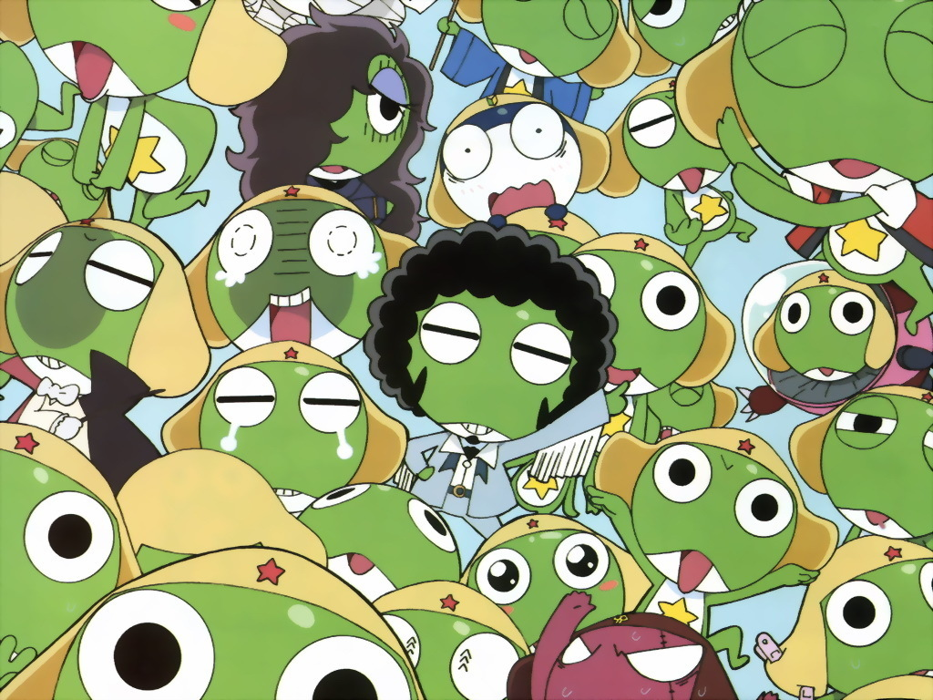 Cartoons Wallpaper: Sgt Frog (Keroro Gunso)