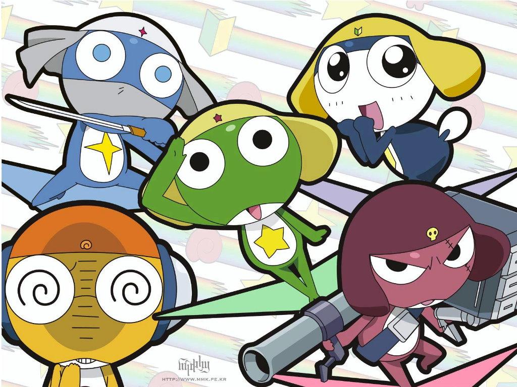Cartoons Wallpaper: Sgt Frog (Keroro Gunso)
