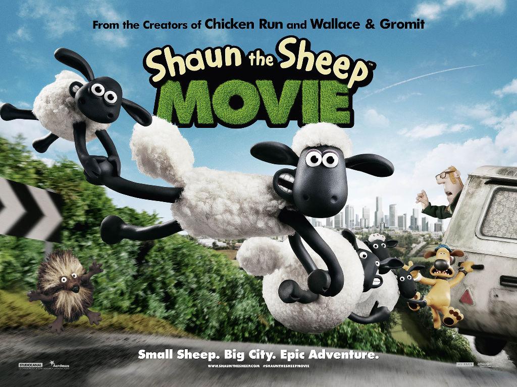Cartoons Wallpaper: Shaun the Sheep Movie