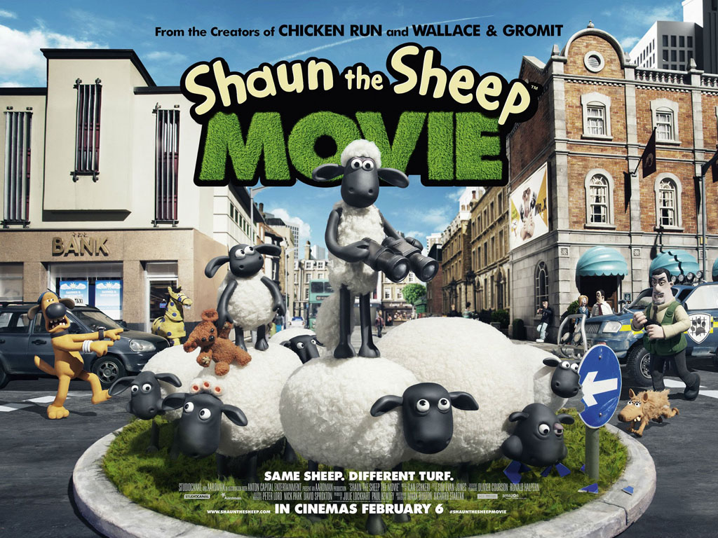 Cartoons Wallpaper: Shaun the Sheep Movie