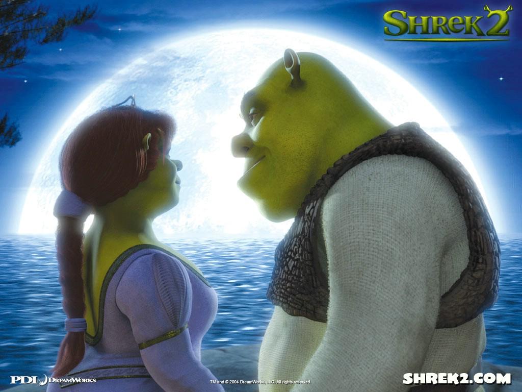 Cartoons Wallpaper: Shrek 2