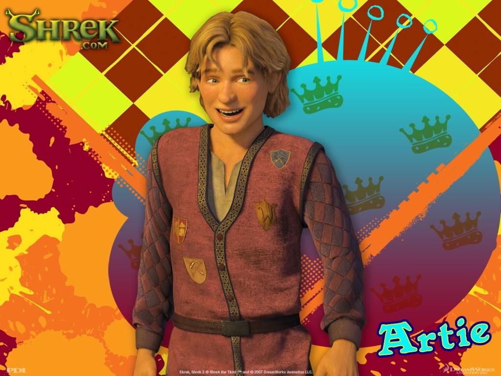 Cartoons Wallpaper: Shrek 3 - Artie