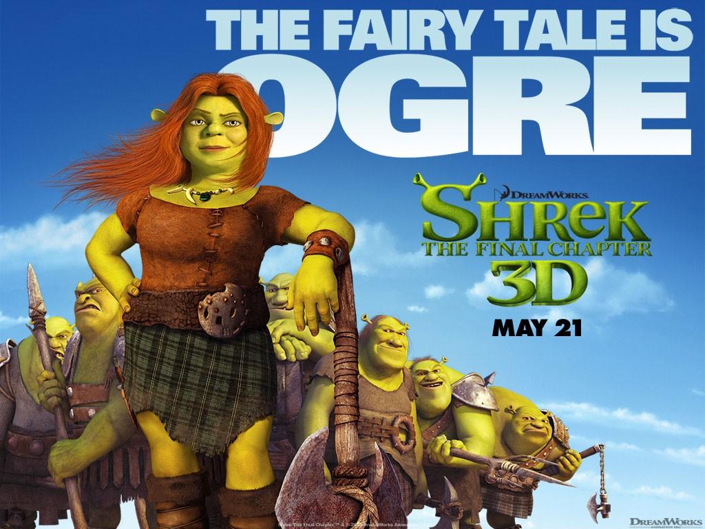 Cartoons Wallpaper: Shrek 4