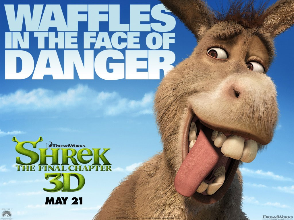 Cartoons Wallpaper: Shrek 4 - Donkey
