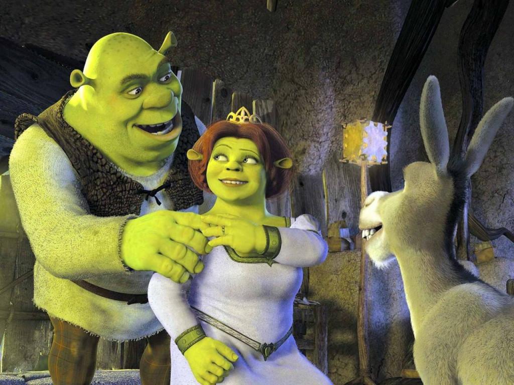 Cartoons Wallpaper: Shrek Forever After