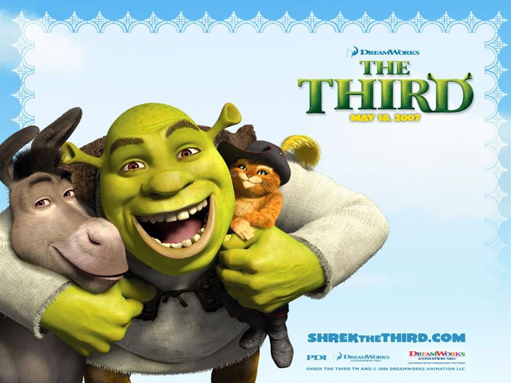 Cartoons Wallpaper: Shrek The Third