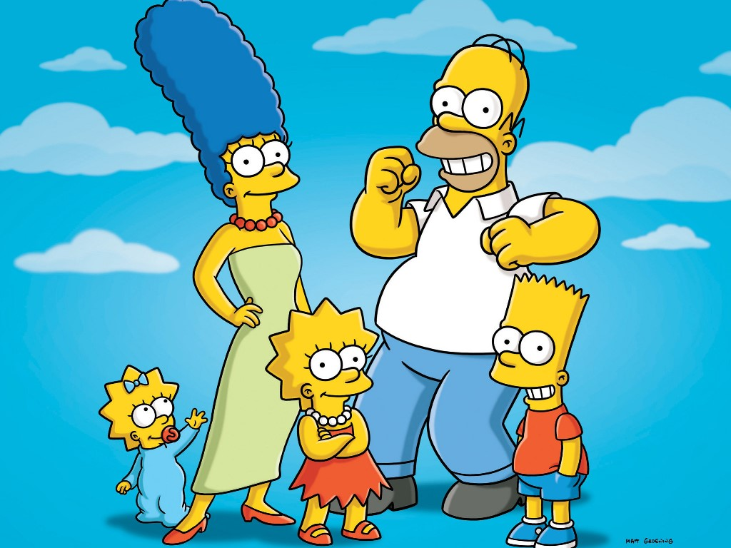 Cartoons Wallpaper: The Simpsons