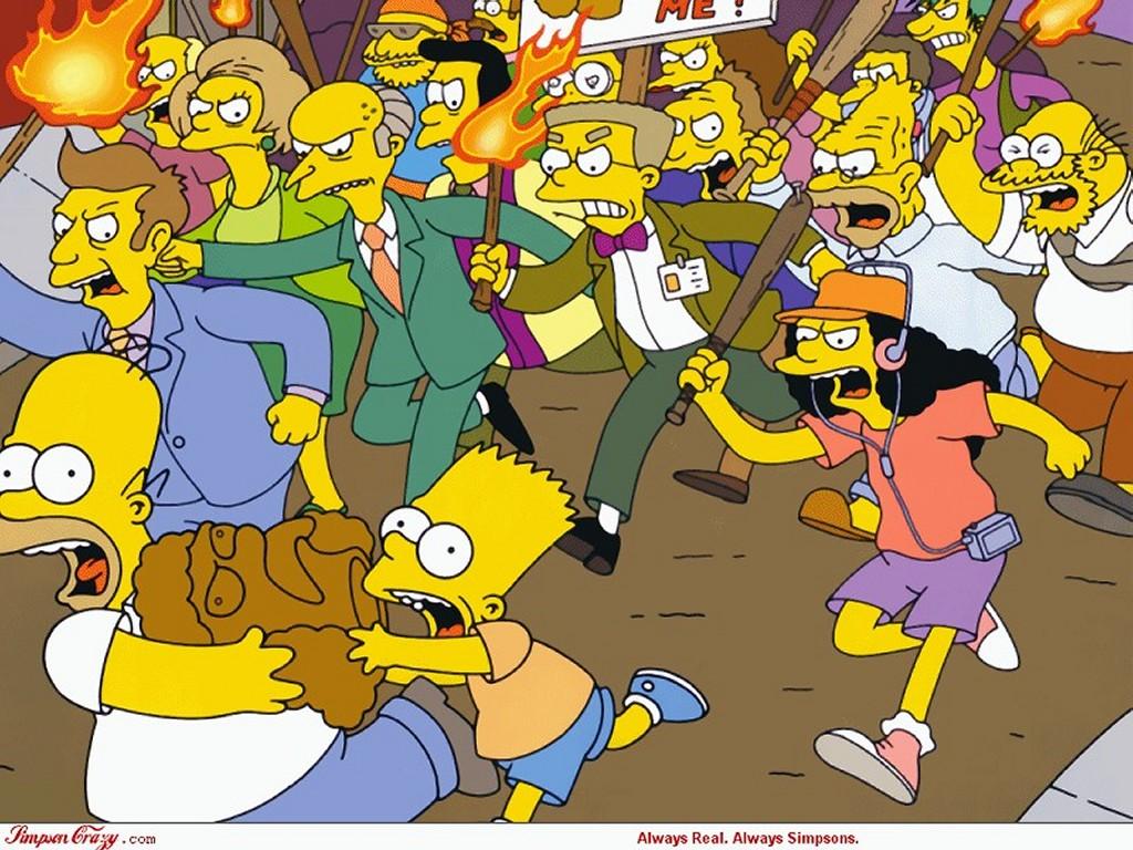 Cartoons Wallpaper: Simpsons - Telltale Head