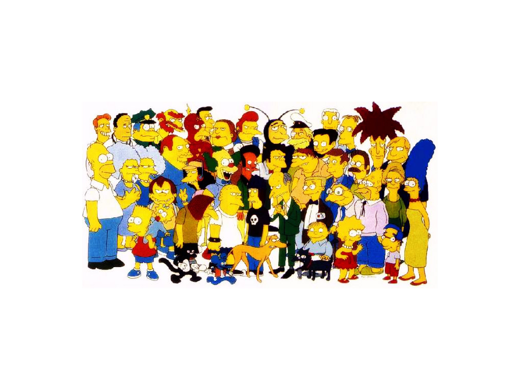 Cartoons Wallpaper: Simpsons