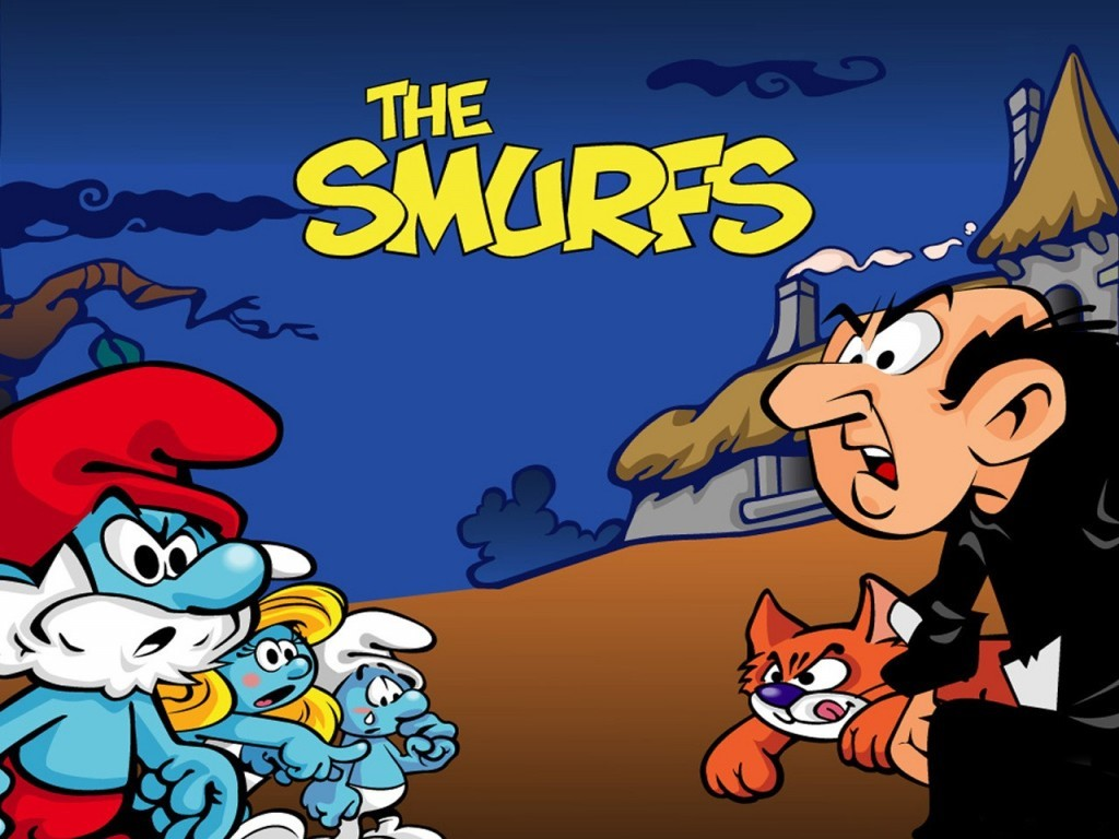 Cartoons Wallpaper: Smurfs